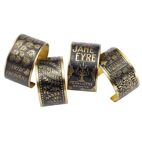 Classic Book Covers Cuff Bracelets