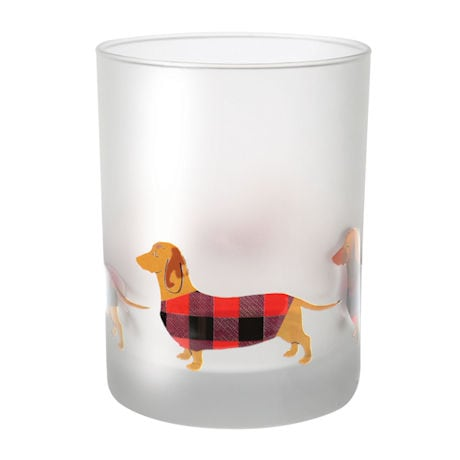Dachshund Frosted Tumblers