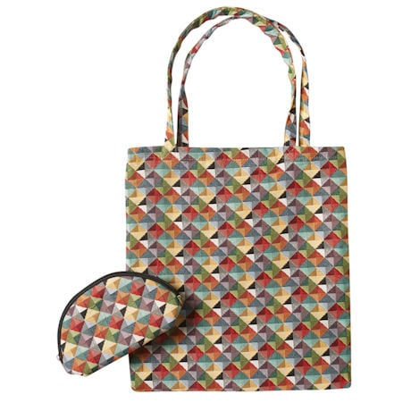 Mosaic Tapestry Tote