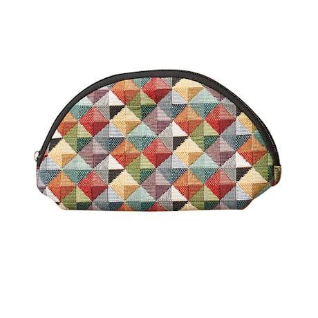 Mosaic Tapestry Cosmetic Bag