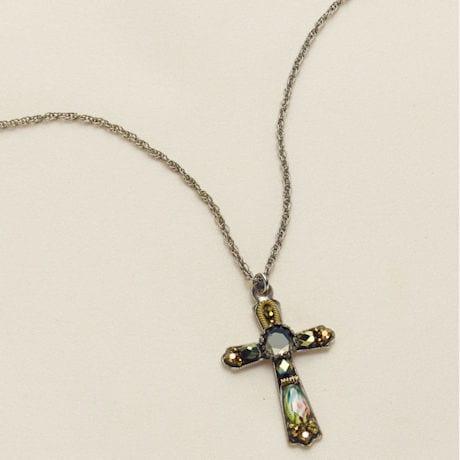 Ayala Bar Cross Necklace