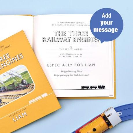 Personalized Railway Classic: The Three Railway Engines - Thomas the Tank Engine