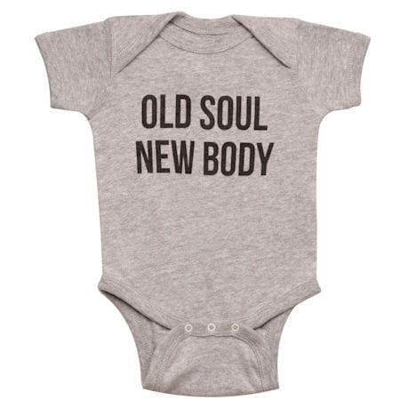 Old Soul, New Body Onesie