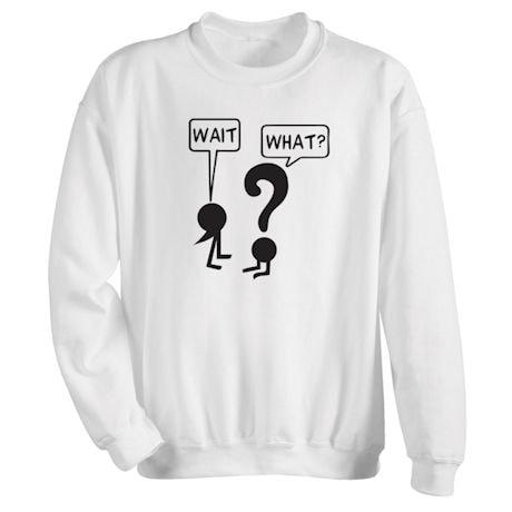 Punctuation Shirts