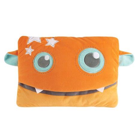 Monster Travel Pillow and Blanket Set