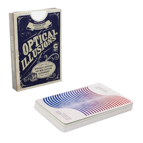 Optical Illusions 50 Card Deck
