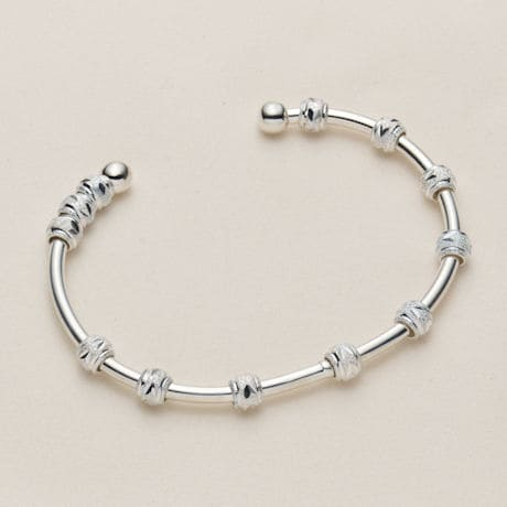 Count Me Healthy Cuff Bracelet