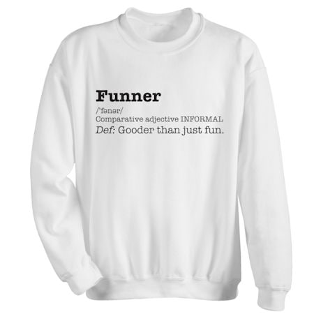 Funner Definition Shirts