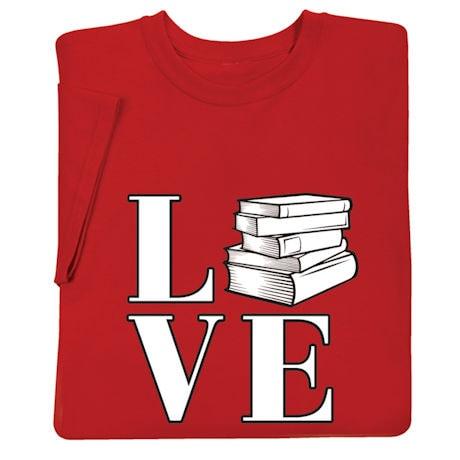 LOVE Books Shirts