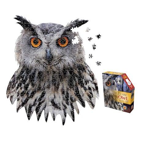 I am Animal Puzzle - Owl