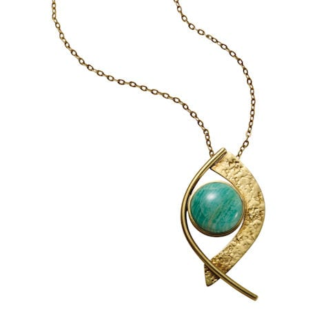 Amazonite Cabochons Necklace