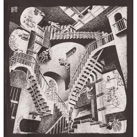 M.C. Escher Relativity T-Shirt