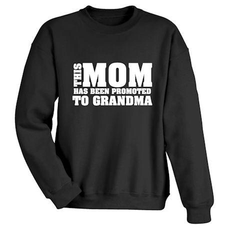 Promoted to Grandma Shirts