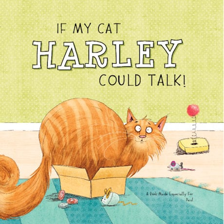 If My Cat Could Talk Personalized Book