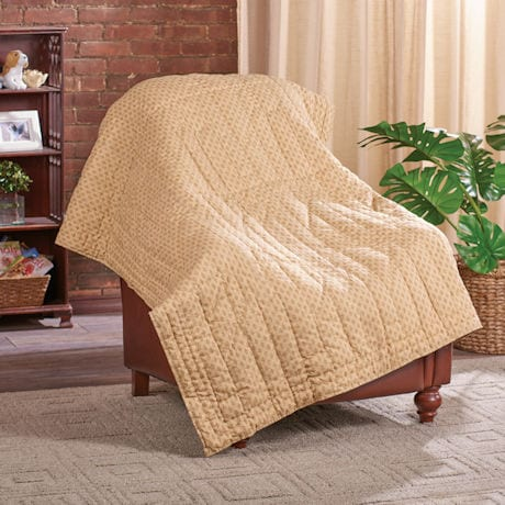 Dogs Quilted Throw Blanket