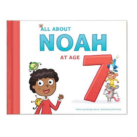 All About Me Personalized Age Books