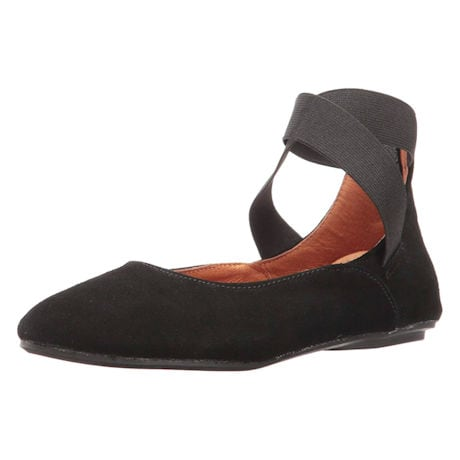 Ballet Flats - Suede Arabesque