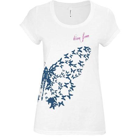 Live Free T-Shirt - White