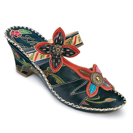 Poppy Leather Sandals