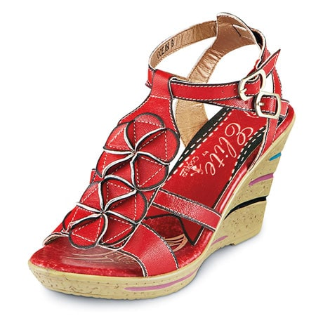 Miami Mambo Wedge Sandals