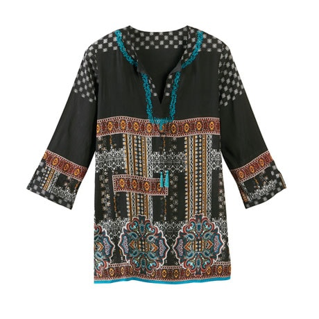 Mila Ethnic Tunic Top
