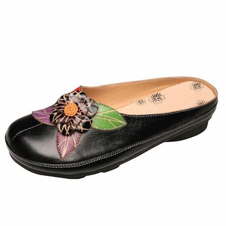 Leather Braga Clogs