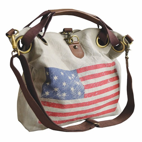 Weathered Flag Tote Bag