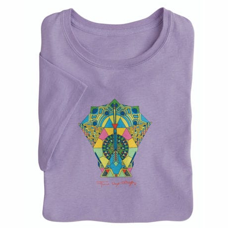 Abstract Peacock Ladies' T-Shirt