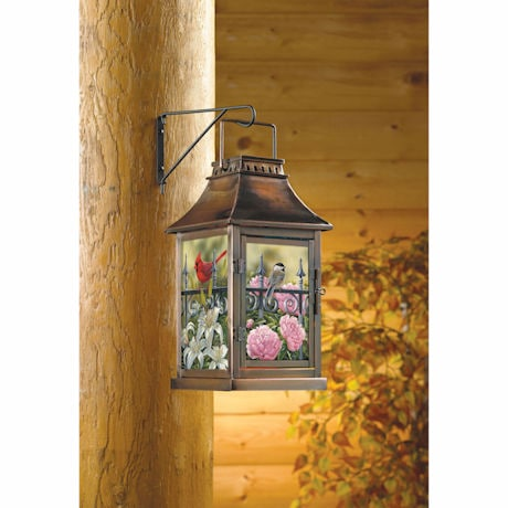 Songbird Dance Candle Lantern