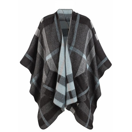 Irish Plaid Wrap Cape