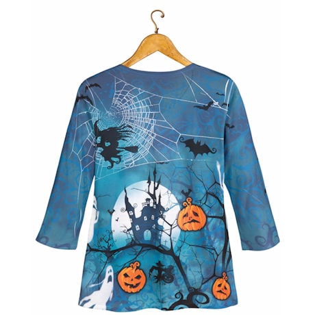 Spooky Halloween V-Neck T-shirt
