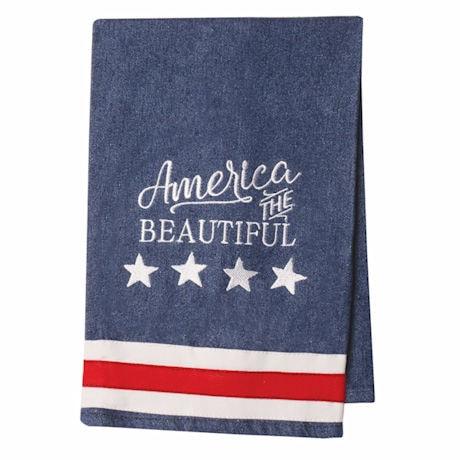 American Pride Towel Set Of 2