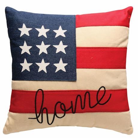 Denim Americana Pillow