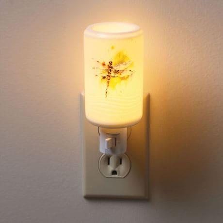 Kaleidoscope Art Nightlight - Dragonfly