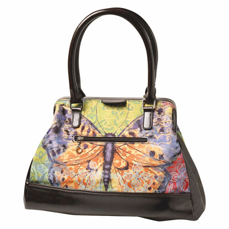 Papillion Rhapsody Handbag