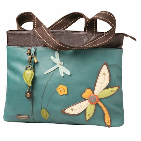 Multi-Pocket Dragonfly Tote