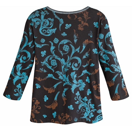 Sophia Turq Scroll Top