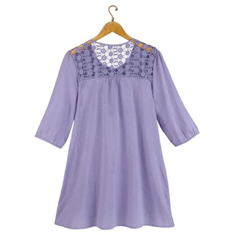 Sweet Lilacs Tunic Top