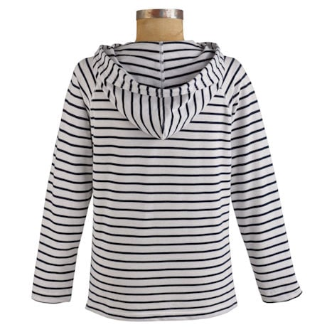 Mariner Knit Stripe Hoody