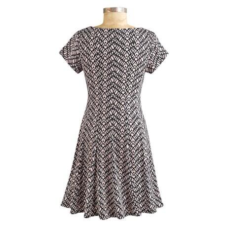 Blush Panel Dress
