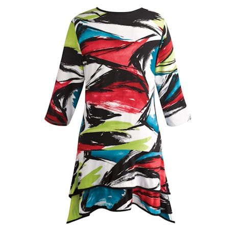 Artistic Brights Tunic