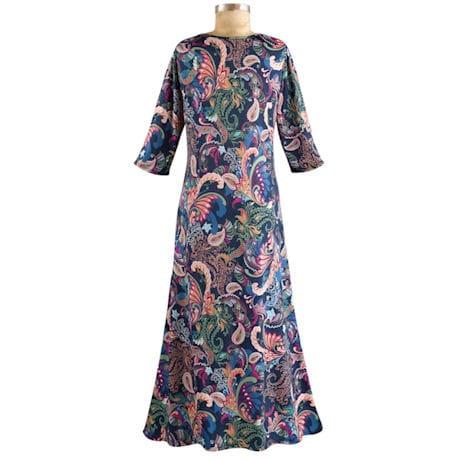 Paisley Passion Maxi Dress