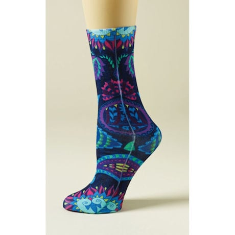 Pretty Paisley Socks