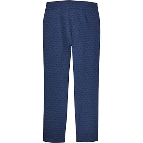 Royal Jacquard Slim-Leg Travel Pant