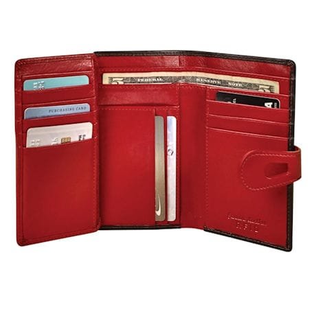Leather Rfid Protection Cash 'N Card Case