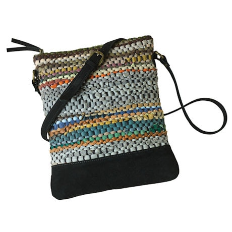 Prairie Stripe Crossbody Bag