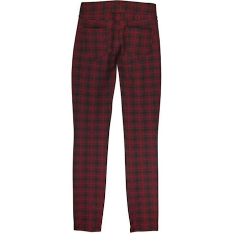 Rosewood Knit Jeans - Plaid