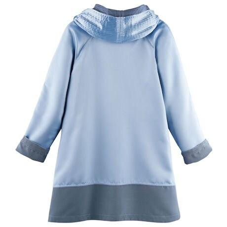 Reversible Hooded Rain Jacket - Iridescent Fabric