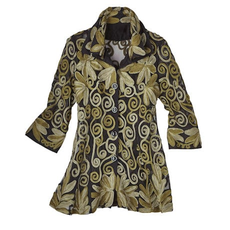 All-Over Embroidery Tunic
