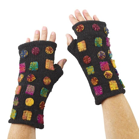 Felt Patches Accessories - Fingerless Glove
